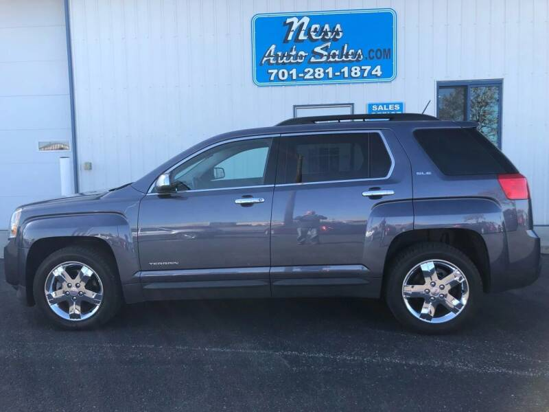 2013 GMC Terrain for sale at NESS AUTO SALES in West Fargo ND