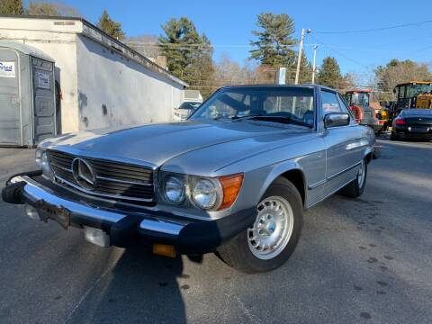 1981 Mercedes-Benz 380-Class for sale at Velocity Motors in Newton MA