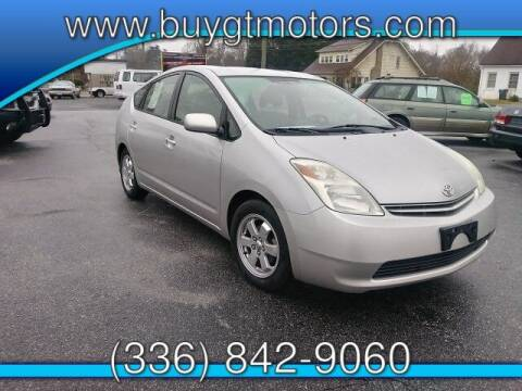 2005 Toyota Prius for sale at GT Motors, LLC in Elkin NC