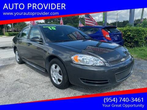 2010 Chevrolet Impala for sale at AUTO PROVIDER in Fort Lauderdale FL