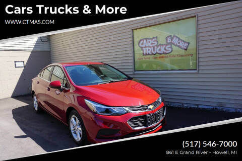 2018 Chevrolet Cruze for sale at Cars Trucks & More in Howell MI