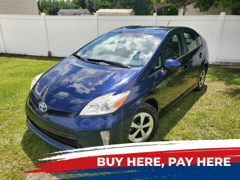 2012 Toyota Prius for sale at Real Deals of Florence, LLC in Effingham SC
