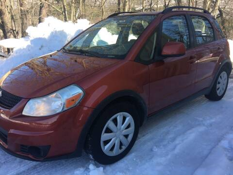 2010 Suzuki SX4 Crossover for sale at BRATTLEBORO AUTO SALES in Brattleboro VT