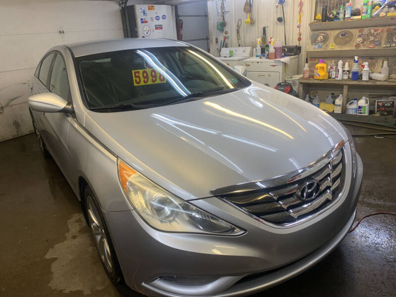 2013 Hyundai Sonata for sale at BURNWORTH AUTO INC in Windber PA