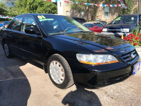 2001 Honda Accord for sale at 5 Stars Auto Service and Sales in Chicago IL