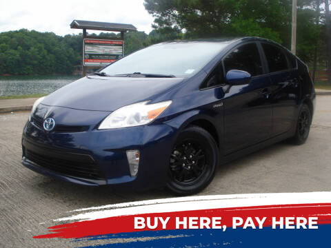 2012 Toyota Prius for sale at Car Store Of Gainesville in Oakwood GA