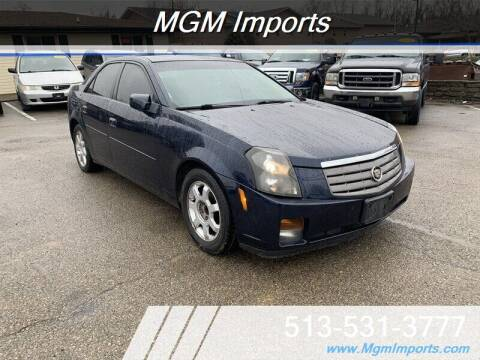2005 Cadillac CTS for sale at MGM Imports in Cincannati OH