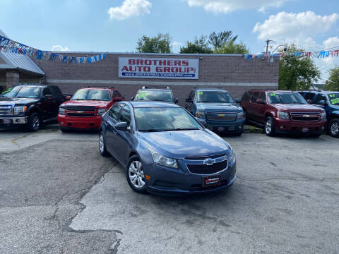 2013 Chevrolet Cruze for sale at Brothers Auto Group in Youngstown OH