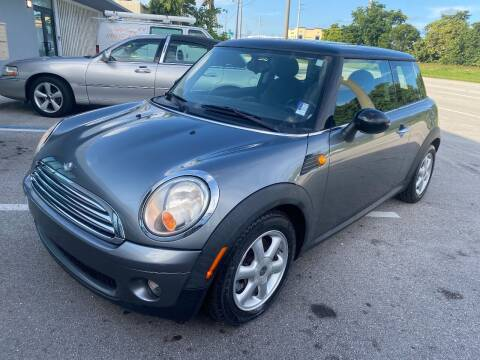 2010 MINI Cooper for sale at UNITED AUTO BROKERS in Hollywood FL