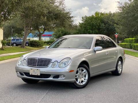 2003 Mercedes-Benz E-Class for sale at Presidents Cars LLC in Orlando FL