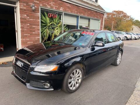2009 Audi A4 for sale at MBM Auto Sales and Service - Lot A in East Sandwich MA