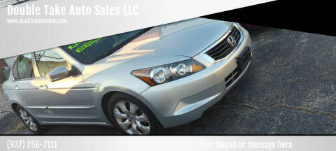2009 Honda Accord for sale at Double Take Auto Sales LLC in Dayton OH