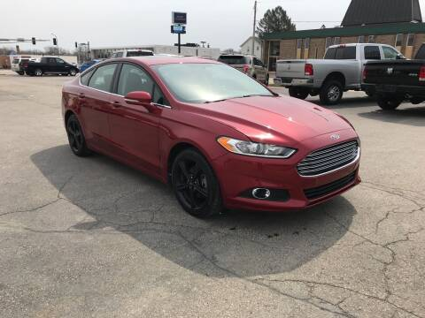 2016 Ford Fusion for sale at Carney Auto Sales in Austin MN