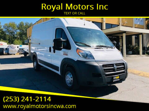2015 RAM ProMaster Cargo for sale at Royal Motors Inc in Kent WA
