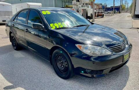 2005 Toyota Camry for sale at Island Auto Express in Grand Island NE