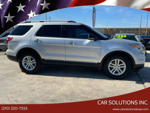 2013 Ford Explorer for sale at Car Solutions Inc. in San Antonio TX