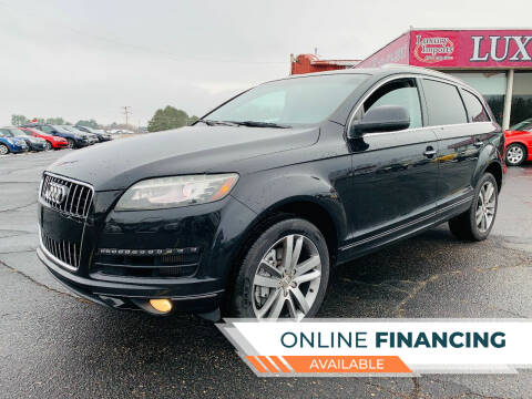 2011 Audi Q7 for sale at LUXURY IMPORTS AUTO SALES INC in North Branch MN