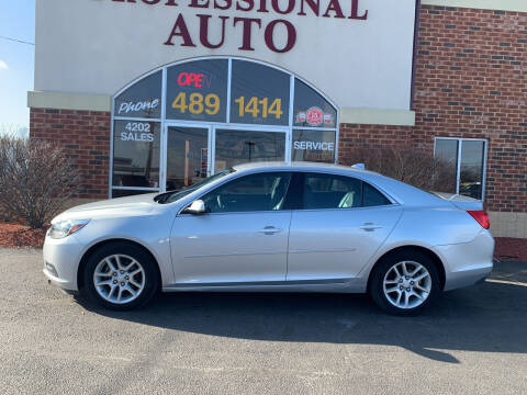 2014 Chevrolet Malibu for sale at Professional Auto Sales & Service in Fort Wayne IN