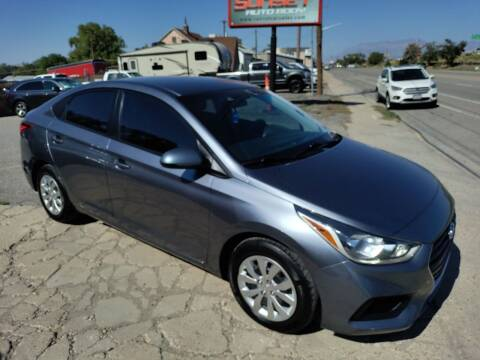 2018 Hyundai Accent for sale at Sunset Auto Body in Sunset UT