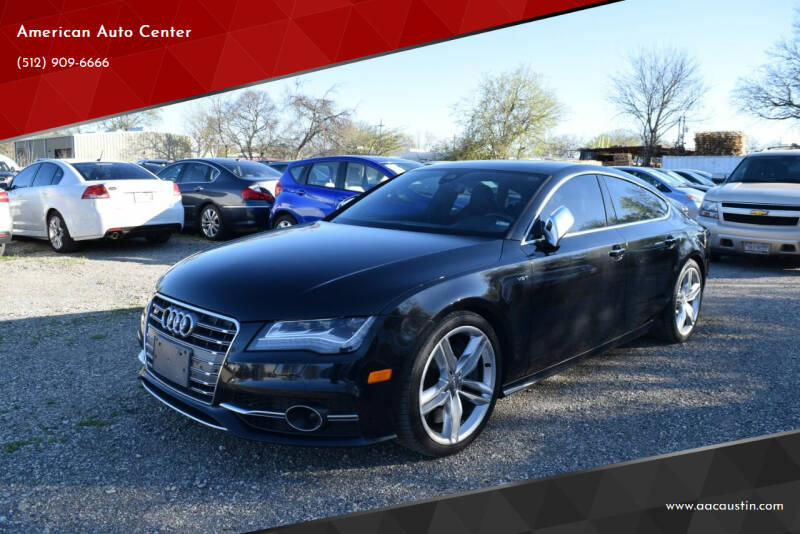 2014 Audi S7 for sale at American Auto Center in Austin TX