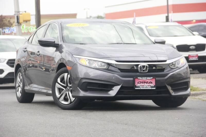 2018 Honda Civic for sale at Dina Auto Sales in Paterson NJ