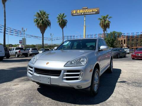 2009 Porsche Cayenne for sale at A MOTORS SALES AND FINANCE - 6226 San Pedro Lot in San Antonio TX