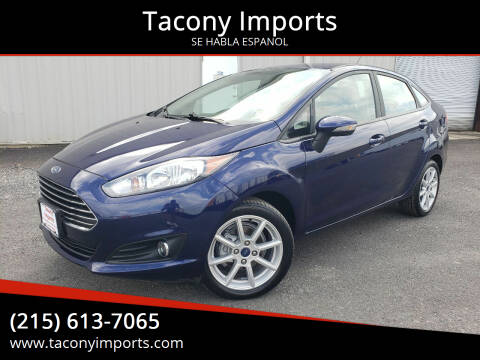 2016 Ford Fiesta for sale at Tacony Imports in Philadelphia PA
