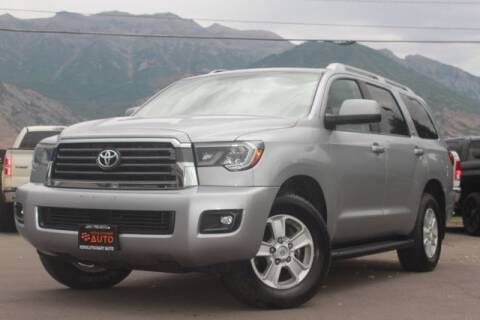 2019 Toyota Sequoia for sale at REVOLUTIONARY AUTO in Lindon UT