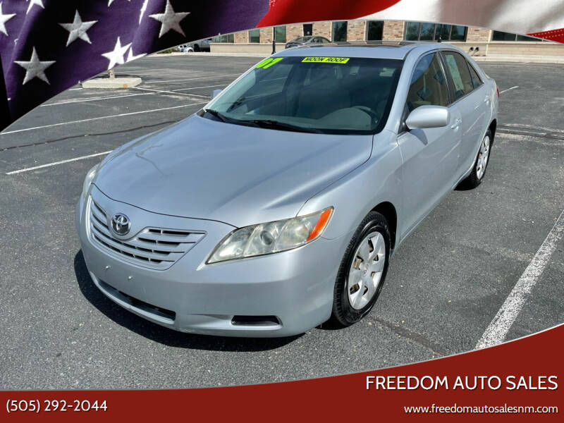 2007 Toyota Camry for sale at Freedom Auto Sales in Albuquerque NM