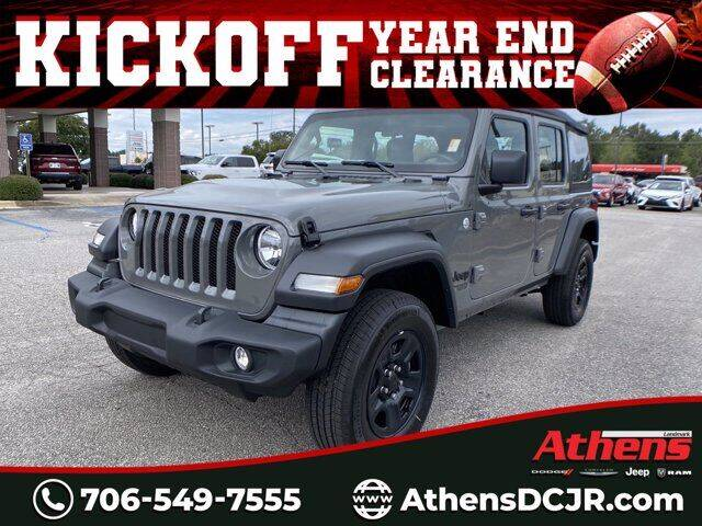 2021 Jeep Wrangler Unlimited for sale in Athens, GA