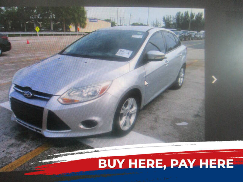2014 Ford Focus for sale at K & V AUTO SALES LLC in Hollywood FL