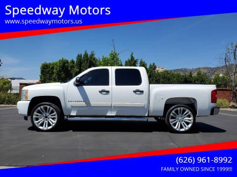 2007 Chevrolet Silverado 1500 for sale at Speedway Motors in Glendora CA