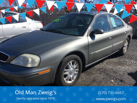 2004 Mercury Sable for sale at Old Man Zweig's in Plymouth Township PA