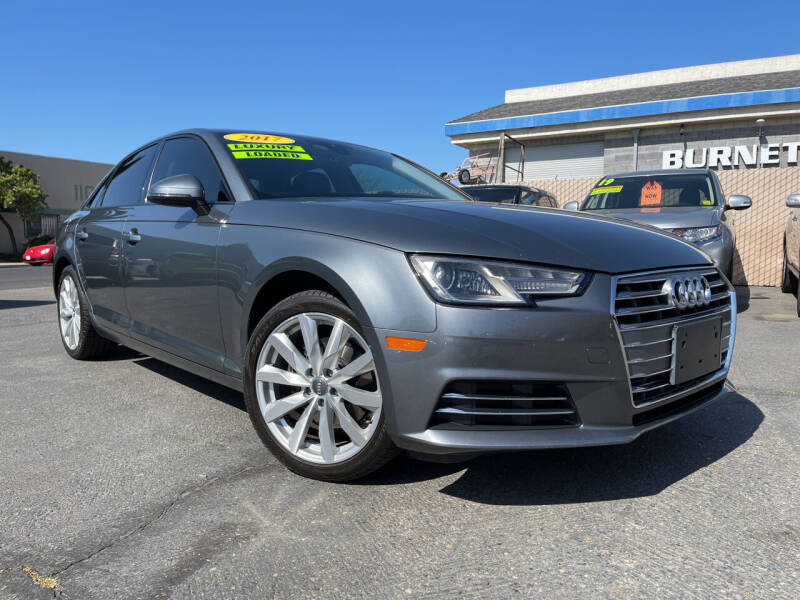 2017 Audi A4 for sale at Cars 2 Go in Clovis CA