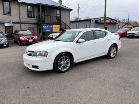 2014 Dodge Avenger for sale at Sisson Pre-Owned in Uniontown PA