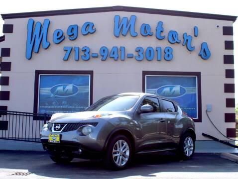 2011 Nissan JUKE for sale at MEGA MOTORS in South Houston TX