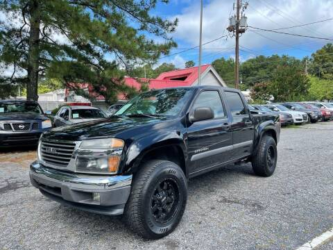 2004 GMC Canyon for sale at Car Online in Roswell GA