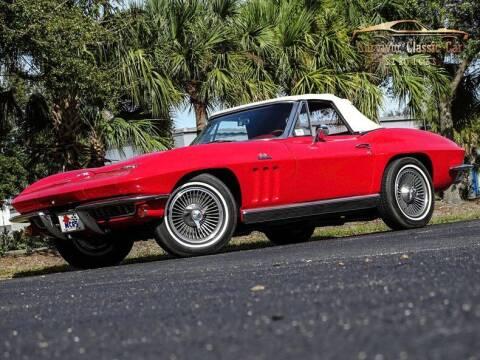 1966 Chevrolet Corvette for sale at SURVIVOR CLASSIC CAR SERVICES in Palmetto FL