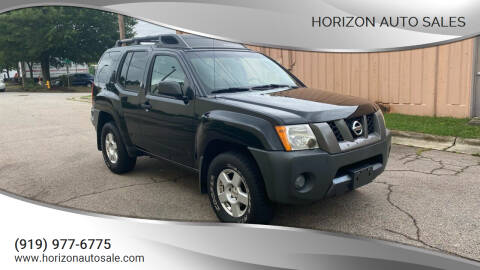2007 Nissan Xterra for sale at Horizon Auto Sales in Raleigh NC