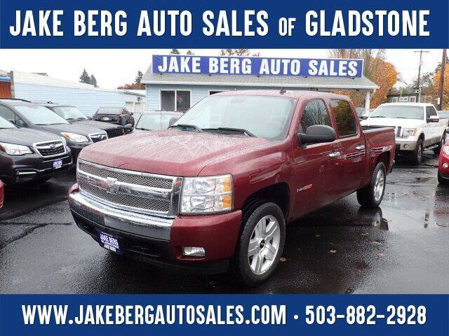 2008 Chevrolet Silverado 1500 for sale at Jake Berg Auto Sales in Gladstone OR