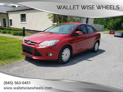 2012 Ford Focus for sale at Wallet Wise Wheels in Montgomery NY