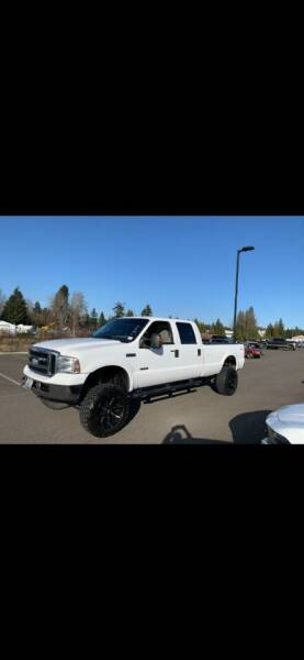 2006 Ford F-350 Super Duty for sale at DISCOUNT AUTO SALES LLC in Lakewood WA