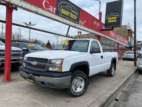 2003 Chevrolet Silverado 2500 for sale at Manny Trucks in Chicago IL