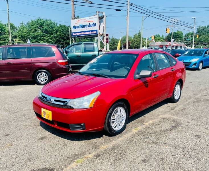 2011 Ford Focus for sale at New Wave Auto of Vineland in Vineland NJ