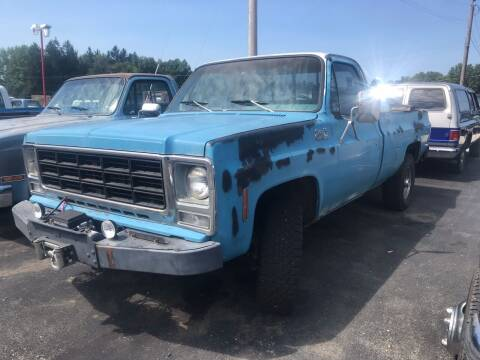 1979 GMC C/K 2500 Series for sale at FIREBALL MOTORS LLC in Lowellville OH
