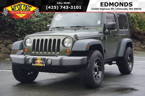 2008 Jeep Wrangler for sale at West Coast Auto Works in Edmonds WA