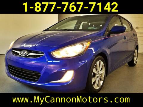 2012 Hyundai Accent for sale at Cannon Motors in Silverdale PA
