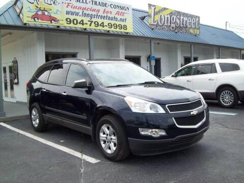 2012 Chevrolet Traverse for sale at LONGSTREET AUTO in Saint Augustine FL