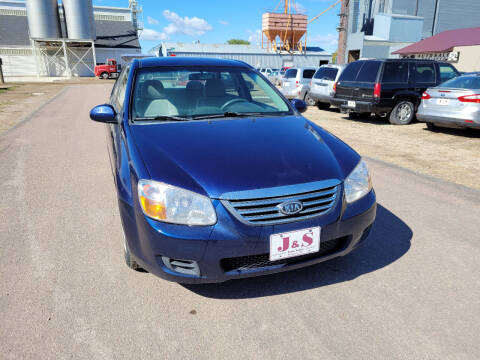 2009 Kia Spectra for sale at J & S Auto Sales in Thompson ND