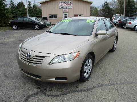 2007 Toyota Camry for sale at Richfield Car Co in Hubertus WI